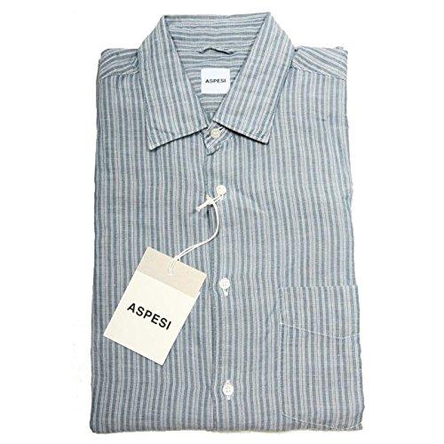 40931 camicia ASPESI LINO camicie uomo shirt men