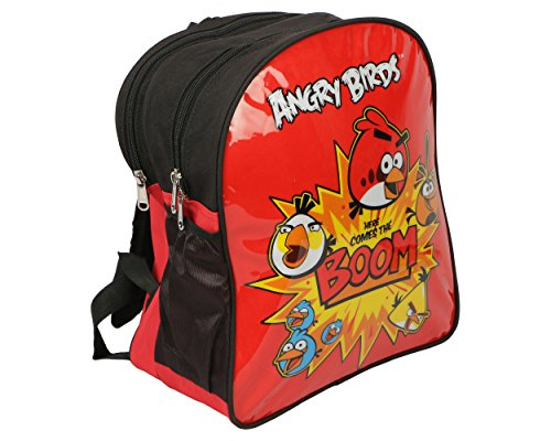 Angry Birds School Bag , Polyester, 14
