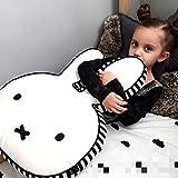 Hiltow huxun Miffy, aus Baumwolle, dekorativer Kissenbezug, Kissenbezug für Kinder, (groß)