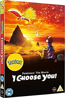 Pokemon The Movie: I Choose You! DVD [Reino Unido] por Manga Entertainment