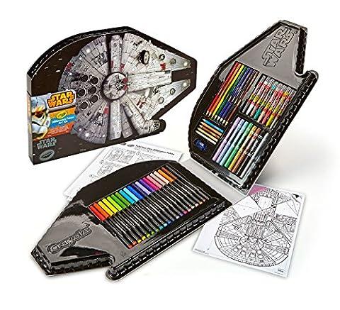 Crayola Star Wars Millennium Falcon Art Case Toy