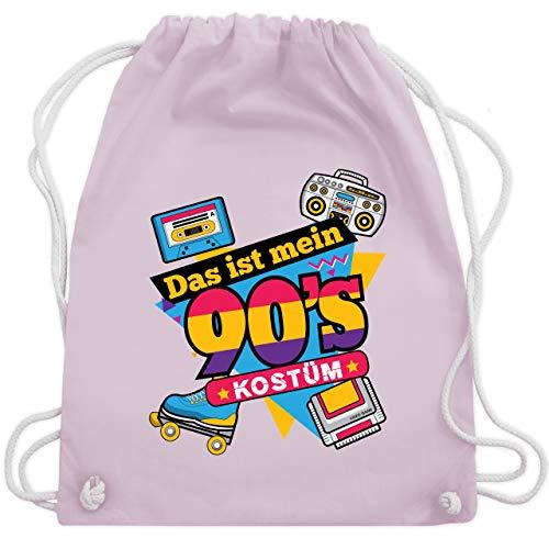 - Das ist mein 90er Jahre Kostüm - Unisize - Pastell Rosa - WM110 - Turnbeutel & Gym Bag ()