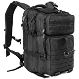 Best Military Backpacks - ICCKER Tactical Backpack Military, 45Liter Army Assault Molle Review