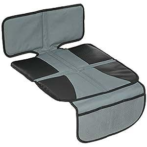TecTake Copertura proteggi sedile per seggiolino auto coprisedile e proteggi-seduta nero