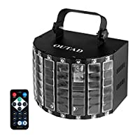 Elepawl OUTAD DJ Butterfly Light Stage Light LED IR Remote Control for Party Stage
