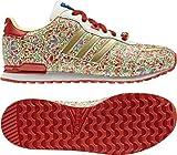 adidas ZX 700 Belle G96298, Unisex-Kinder Sneaker, Mehrfarbig (Hi-Res Orange F13/Metallic Gold/Running White), EU 37 1/3 (UK 4.5)