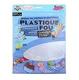 Diam's DI42262 - 7 Feuilles Poncées Plastique Fou Transparent 27,9 x 21,6 x 0,1 cm...