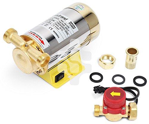 90W Nordstrand Booster Bomba de De Agua Alta Presión Diafragma Automático para Ducha y Jardín