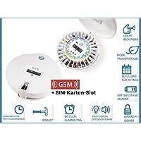 Tablettenbox Careousel Advance mit Erinnerungs-Alarm | Programmierbare Pillendose erinnert zur richtigen Zeit... preisvergleich bei billige-tabletten.eu