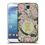 Head Case Designs Du Machst Du Gestickter Druck Zitate Ruckseite Hülle für Samsung Galaxy S4 I9500