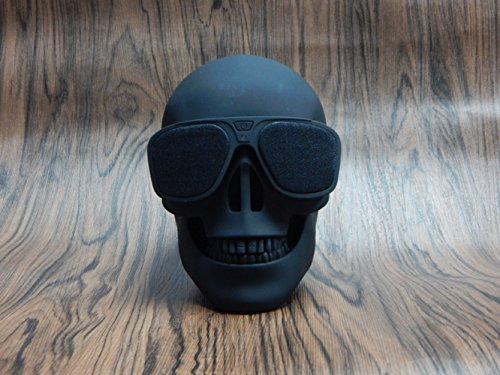MLL Shantou Bluetooth Lautsprecher Wireless Lautsprecher Geist Kopf Kreative Persönlichkeit Bulldog Körper Big Dog Kopf,Schwarz,13 * 10 * 13 cm
