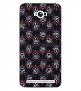 PrintDhaba Pattern D-5462 Back Case Cover for ASUS ZENFONE MAX ZC550KL (Multi-Coloured)