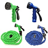 Buyerzone Magic Hose 15 M 50 Feet Expandable Garden Hose For Car Washing Gun Magic Hose Pipe