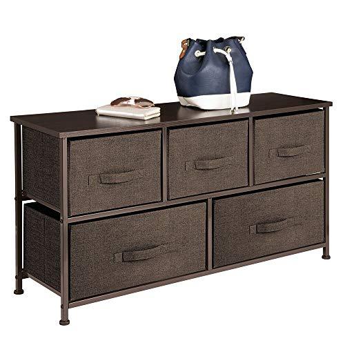 MDesign Cómoda tela - Práctico organizador armarios