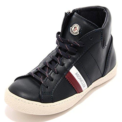 97065 sneaker blu MONCLER scarpa bimbo bimba shoes kids unisex [21]
