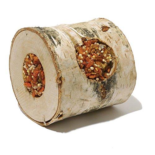 Rosewood Boredom Breaker Natural Treat Nibble Woodroll Carrot Test