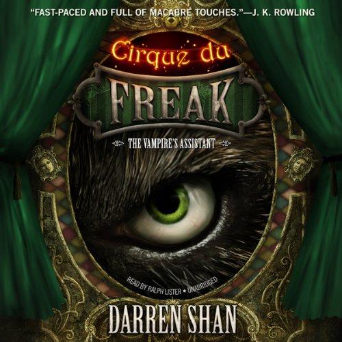 Cirque du Freak: The Vampire's Assistant  Audiolibri
