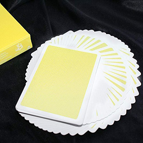 United Steel Deck (SOLOMAGIA Steel Playing Cards - Yellow - Kartenspiel - Zaubertricks und Props)