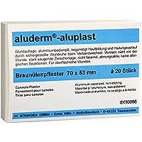 aluderm-aluplast Braunülenpflastersteril, 7 x 5,3 cm (20) preisvergleich bei billige-tabletten.eu