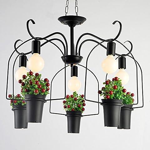 LINA-Impianto Creative personalità lampadari cafe bar balcone vetrina fioraio nei