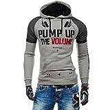 Langarm-Kapuzenshirt Outwear Pullover 3D Blusen-Top-Shirt