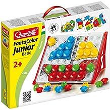 Quercetti Fantacolour Junior Basic - Juego para colorear con piezas