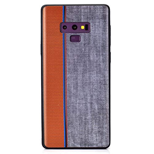 Carols Samsung Galaxy Note 9 Hülle, TPU Handyhülle Schutzhülle für Samsung Galaxy Note 9 Case Cover, Samsung Galaxy Note 9 Case Cover Black - Grau