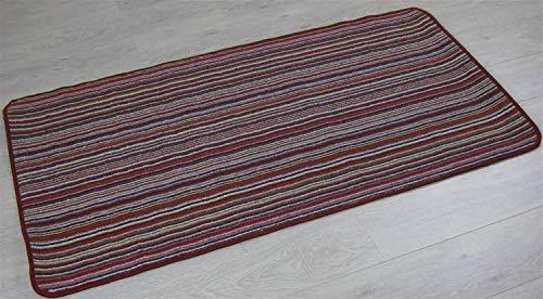 XIAOPING-YANG Antideslizante y Silencioso Alfombra Roja, 80 X 500 Cm