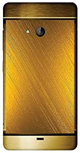 Timpax Protective Hard Back Case Cover Full access to all features. ports of the device including microphone, speaker, camera and all buttons. Printed Design : Plate of gold.Precisely Design For : Nokia Lumia 540 ( Microsoft Lumia 540 )