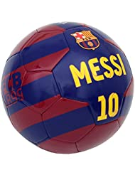 Ballon de football BARCA - Lionel MESSI - Collection officielle FC BARCELONE - Taille 5