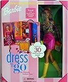 Barbie 2001 - Dress n Go Barbie mit Schrank-Koffer & über 30 Fashion Accessories - OVP