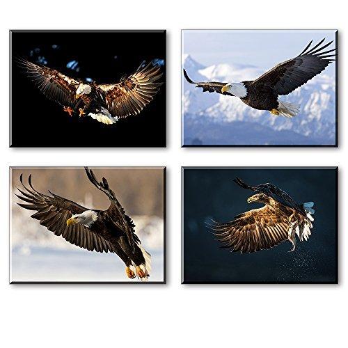 Zen Leinwand Wand Art-aufhängefertig Leinwand Prints für Schlafzimmer, Wasserdicht Modern 12x16x4 Eagle Pictures (1