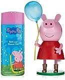 Peppa Pig 49010–Duschgel 400ml + Figur mit Ballon