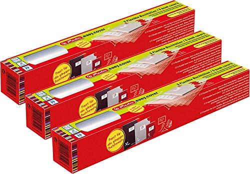 Herlitz 50014743 Buchhülle easy cover (Größe: 15 Stück, Rolle)