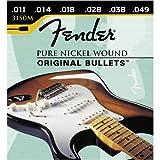 Fender 150 Nickel Wound Original Bullets Electric Guitar Strings11-49