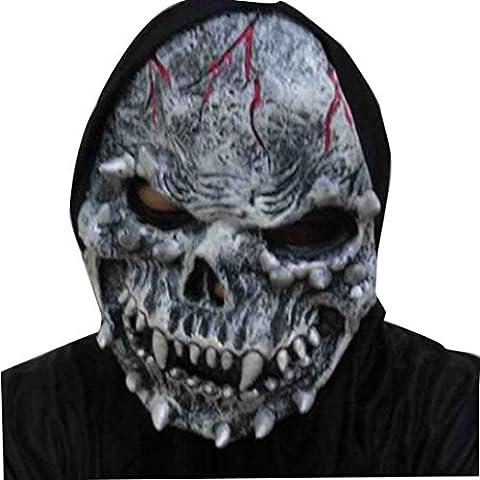 Oyedens Conejito Atractivo Largo Del Oído Del Cordón De Bob Velo Máscara Venda Del Partido De Halloween De