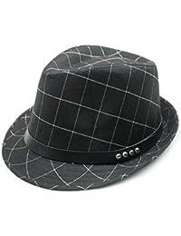 sombrero de cuadros de moda/ los Corea moda otoño casuales sombreros/Hombres invierno cálido Jazz sombreros en Inglaterra