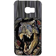 Phone Shell For S6 Edge Samsung Guy Durability Design Tyrannosaurus Rex Card Slot