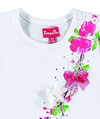 Pampolina Girl's T-shirt 1/4 Arm T-Shirt