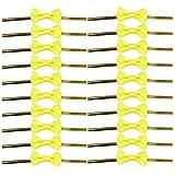 Kingstons gelb Schleife Geschenk Verpackung Twist Kabelbinder für Party Bakery Cookie Candy Staubbeutel