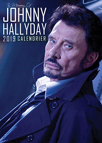 JOHNNY HALLYDAY FRENCH EDITION CALENDRIER 2019 + JOHNNY HALLYDAY FRENCH EDITION AIMANT POUR LE FRIGO