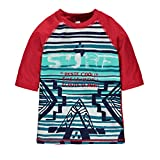 Souris Mini Jungen Bademantel Enfant Garçon-T-Shirt DE Bain S17C0102, Rouge (Rouge Multi Red), 4 Jahre