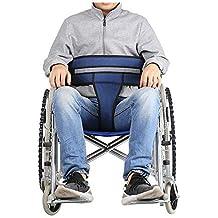 Cinturón para Sillas de ruedas Restricciones arnés Correas seguridad médicas Pacientes Cuidados Sillas de ruedas Silla