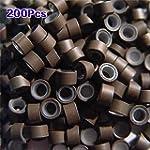 TOOGOO(R) 200 PCS 5mm Moyen silicone...