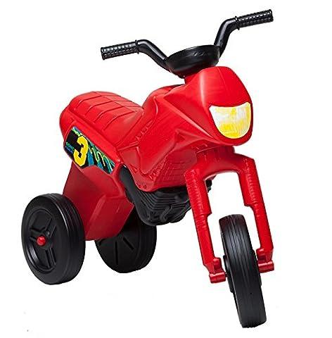 ARIGOmoto, petite moto, tricycle, pour enfant 2 - 3 ans (Grande XL, Rouge)
