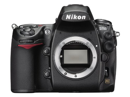 Nikon D700 SLR-Digitalkamera (12 Megapixel, Live View, Vollformatsensor) - Nikon Kamera D 700