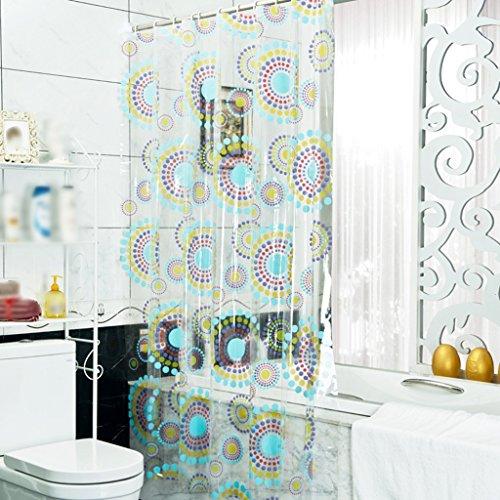 Rideaux de douche Rideau de douche de mode Protection de l'environnement Salle de bains Imperméable Doux Confortable Durable ( taille : 180X240CM )