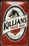 Blechschild Killians Lager Beer Pferd Bier Schild Nostalgieschild Werbeschild retro