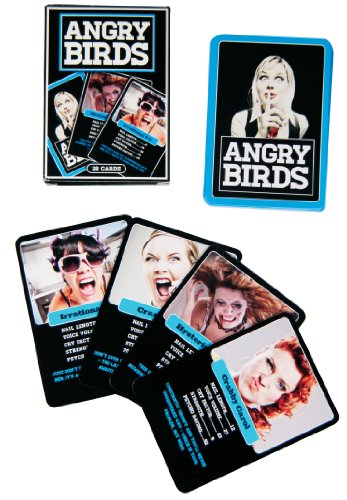 Gentleman s Club Angry Birds Card Game
