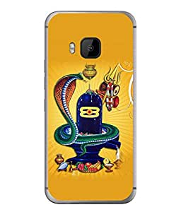PrintVisa Designer Back Case Cover for HTC One M9 :: HTC One M9S :: HTC M9 (Shiva Ancient Blessing Heritage Carving Concept Beautiful Culture)